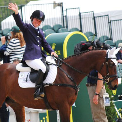 Emily Beshear Eventer Team Shires