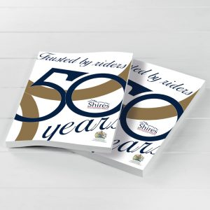 Shires 50 Years Catalogue