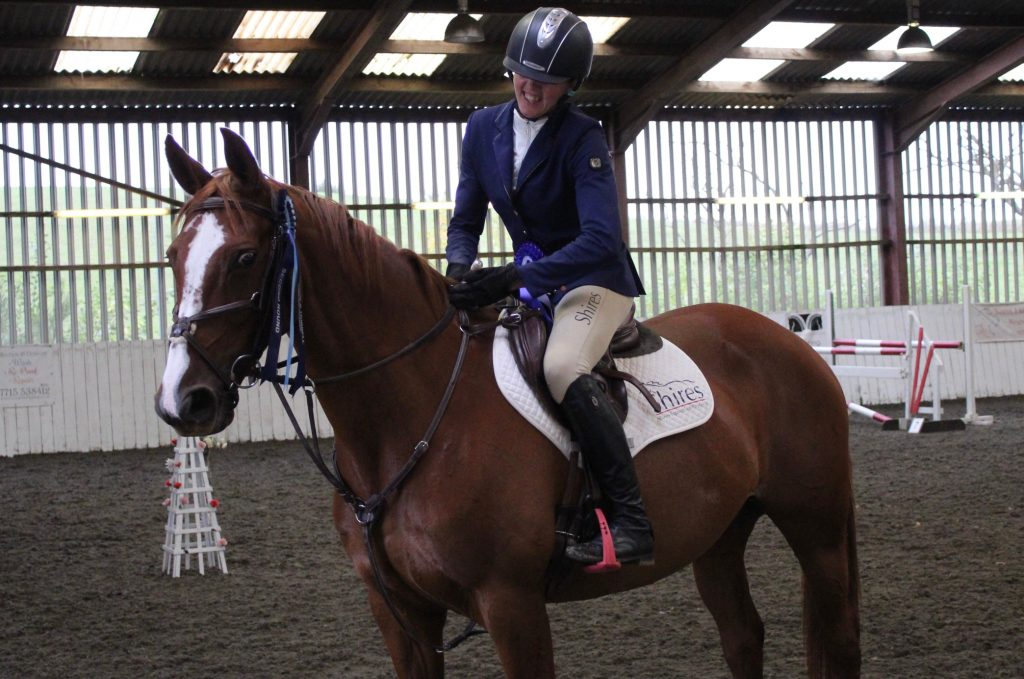 Bonnie Fishburn Team Shires rider