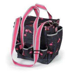Grooming Bag - Flamingo Print