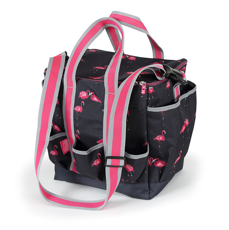 Grooming Bag - Flamingo Print