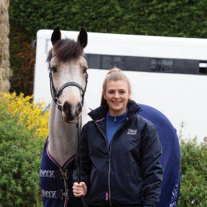 megan elphick brand ambassador shires equestrian